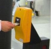 승차권 티켓 개찰기